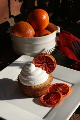 Blood Orange Cupcakes!