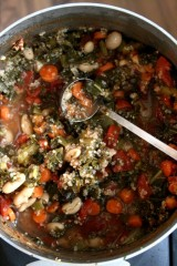 Healthy Veggie Soup For Your Picky Pup!