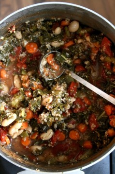 Veggie Soup for your pup!